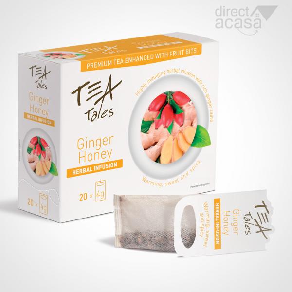 TeaTales Ginger Honey 20x4g 0