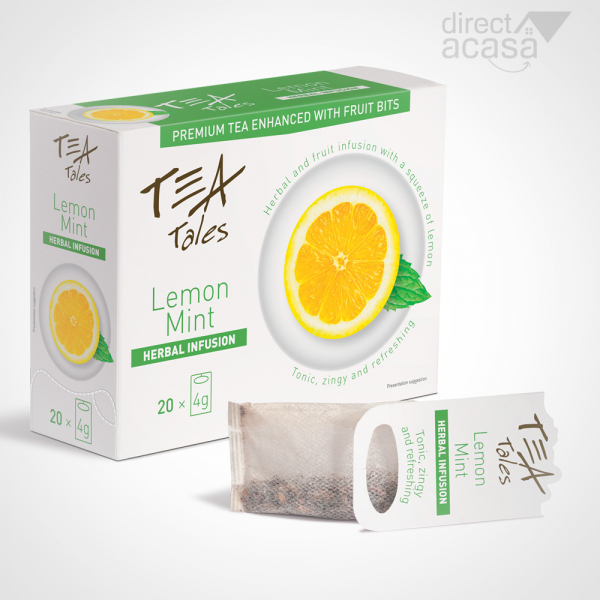 TeaTales Lemon Mint 20x4g 0