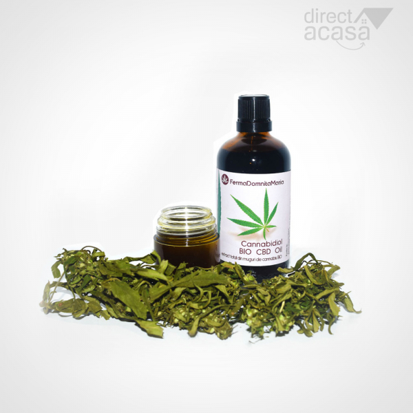 ULEI CBD (Menta) Full Plant Extract 100ml - Cannabidiol OIL 1350mg/st total cannabinoizi CBD OIL 0