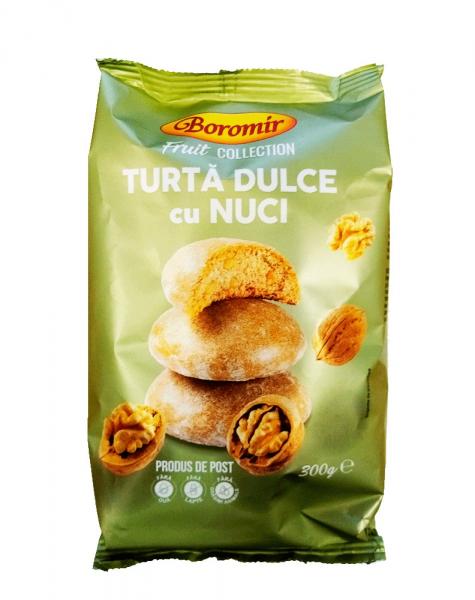 TURTA DULCE CU NUCI BOROMIR 300G 0