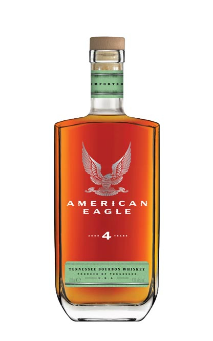 Bourbon Whiskey 4 years, American Eagle, 40% Alc, 0,7L 0