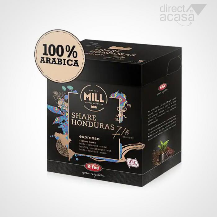 Capsule cafea MR & MRS MILL Honduras compatibilitate cu Tchib0, 12 capsule, 93g 0
