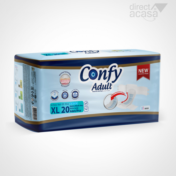 Confy Scutece adult extra large eco 1x20 0