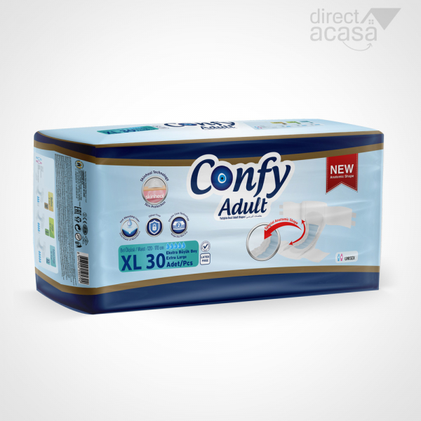 Confy Scutece adult extra large jumbo 1x30 0