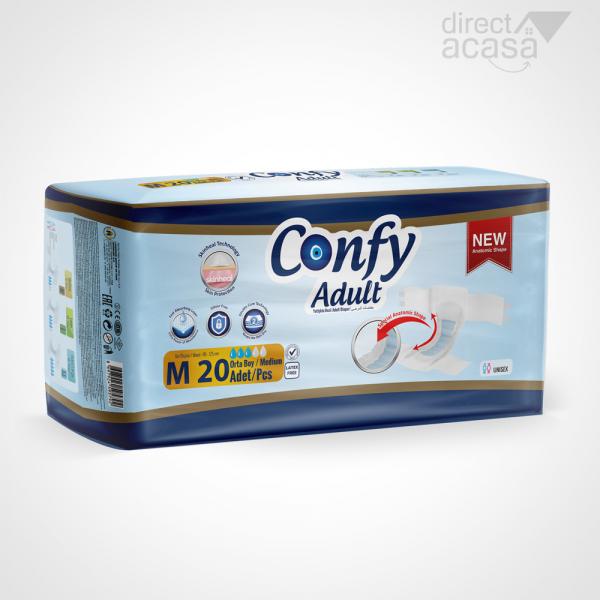 Confy Scutece adult medium eco 1x20 0