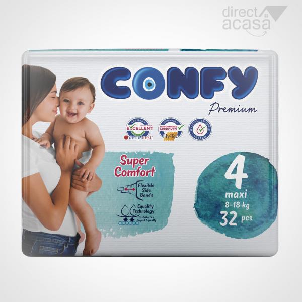 Confy Scutece copii nr.4 premium maxi eco 1x32 [0]