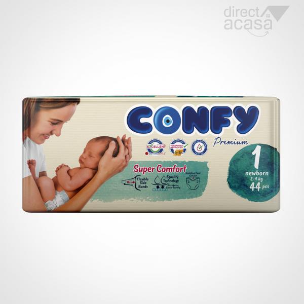 Confy Scutece nou nascuti nr.1 1x44 0