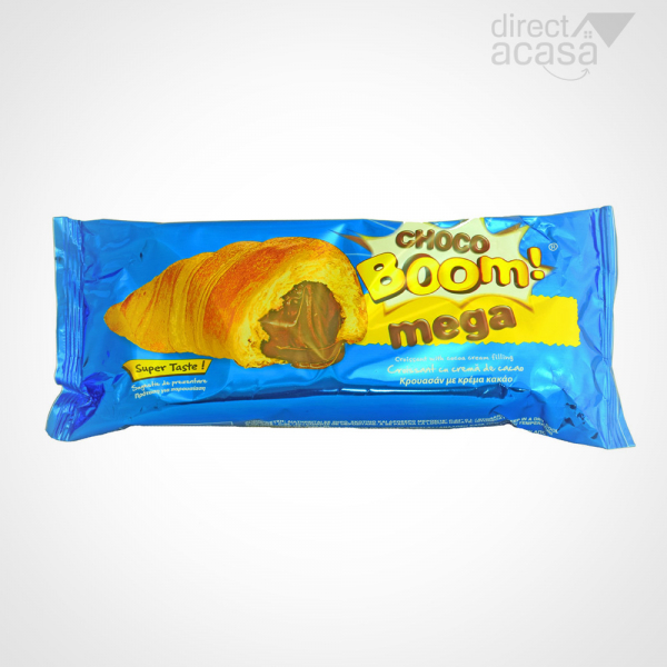 CROISSANT CHOCO  BOOM MEGA CU CREMA CACAO 150 GR 0