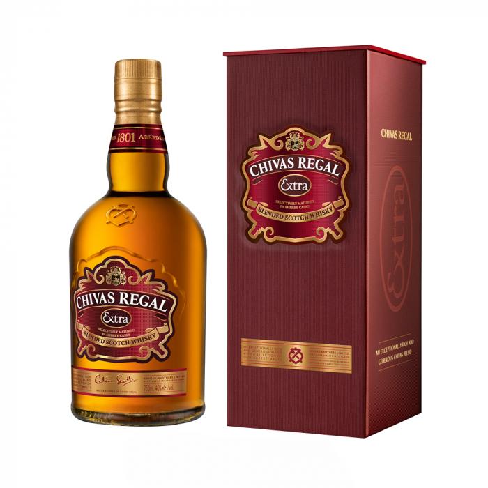 Deluxe Scotch Whisky, Chivas Regal Extra, 40% alc., 0,7L [0]