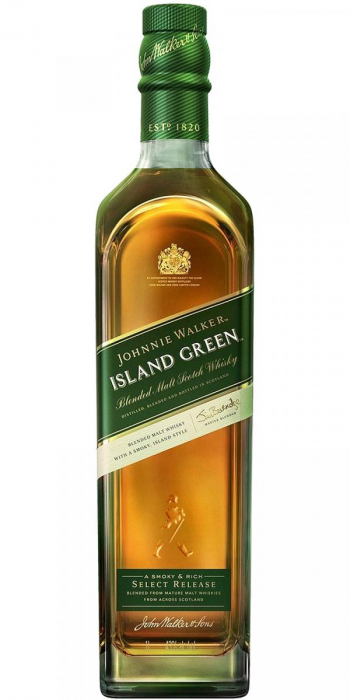 Deluxe Scotch Whisky, Johnnie Walker Green, 40% alc, 0,7L 0