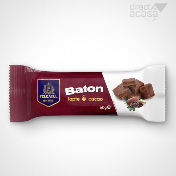 Baton cu lapte si cacao 60g 0