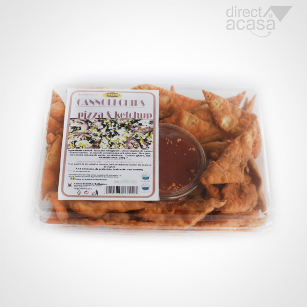 CANNOLI CHIPS PIZZA SI KETCHUP 220G [0]