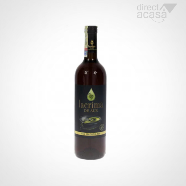 VIN ALB DULCE LICOROS LACRIMA DE AUR - 15 % - 750 ml 0
