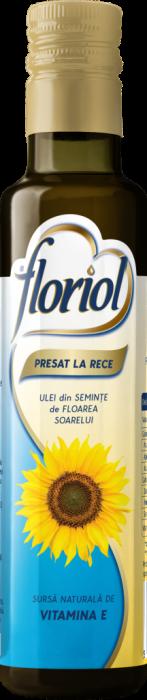 Floriol ulei Presat la Rece din Seminte de Floarea-Soarelui 250 ml [0]