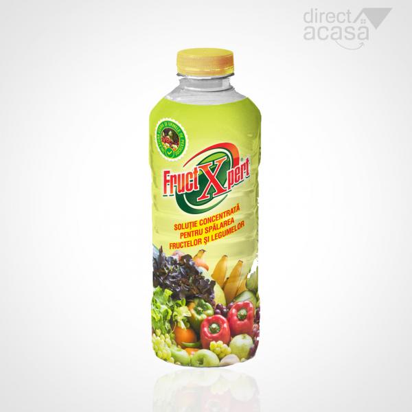 Solutie pentru decontaminarea fructelor si legumelor FructXpert 2L 0