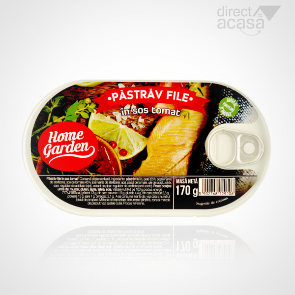 HOME GARDEN PASTRAV FILE IN SOS TOMAT 170G 0