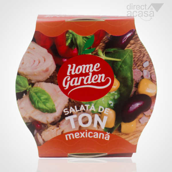 HOME GARDEN SALATA DE TON MEXICANA 180G 0