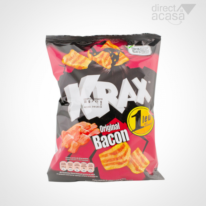 Snacks Original cu aroma de bacon 30G 0