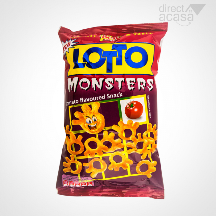 Lotto Monsters Snack cu Rosii 35G [0]