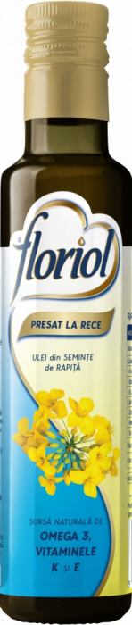 Floriol ulei Presat la Rece din Seminte de Rapita 250 ml [0]