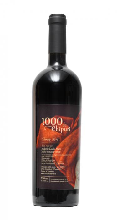 Shiraz 2015, 1000 de Chipuri, 0,75L [0]