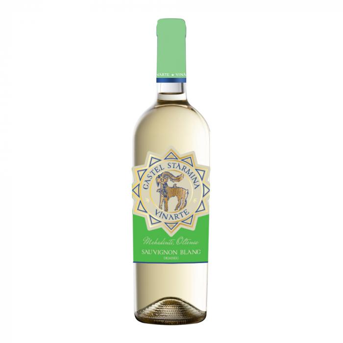 Vin Alb Castel Starmina Sauvignon Blanc, Vinarte, 0,75L [0]