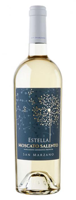 Vin Alb Estella Moscato Salento, San Marzano, IGP 0,75 L [0]