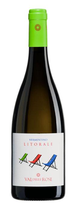 Vin Alb Maremma Toscana, Litorale Val Delle Rose, DOC 0,75 L 0