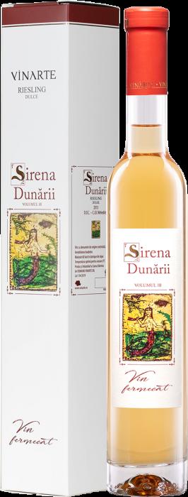 Vin Alb Sirena Dunarii Riesling, Vinarte, 0,375L [0]
