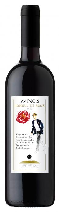 Vin Domnul de Roua Rosu Sec, Avincis, 0.75L 0