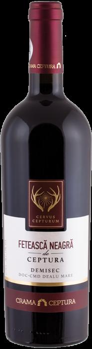 Vin Feteasca Neagra & Merlot Demisec, Cervus Cepturum, 0.75L [0]