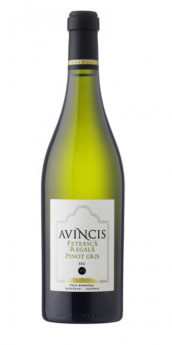Vin Feteasca Regala & Pinot Gris, Avincis, 0.75L [0]