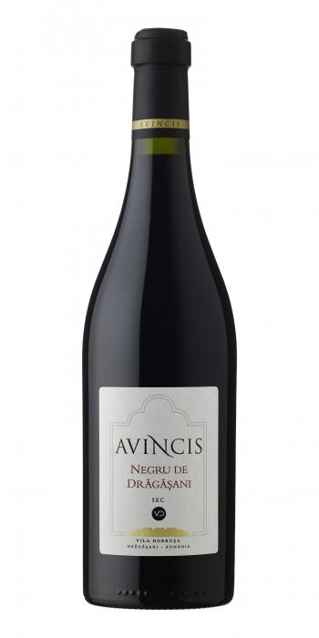 Vin Negru de Dragasani, Avincis, 0.75L 0