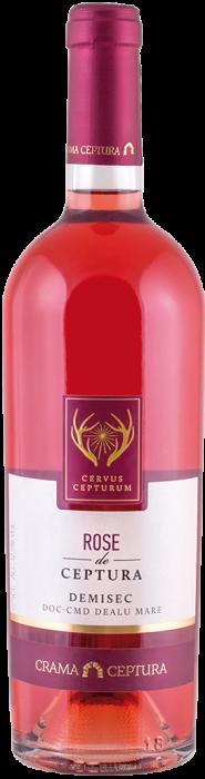 Vin Rose Demisec, Cervus Cepturum, 0.75L 0