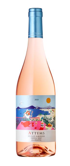 Vin rose Pinot Grigio Friuli Ramato DOC, Frescobaldi Attems, 0,75L 0