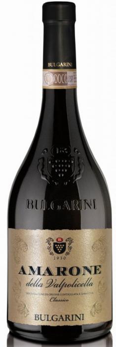 Vin rosu Amarone Della Valpolicella DOCG, Bulgarini, 0,75L 0