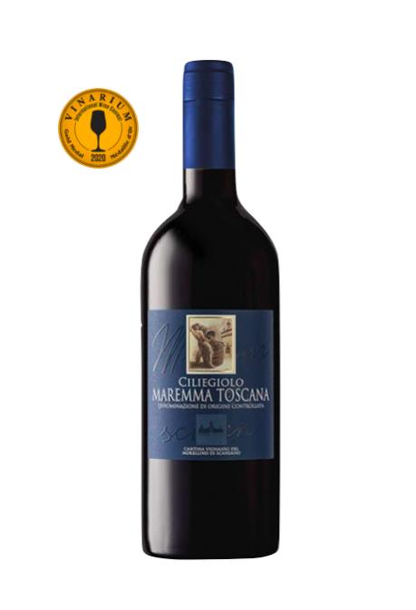 Vin Rosu Capoccia Ciliegiolo Maremma Toscana, Vignaioli, DOC 0,75 L [0]