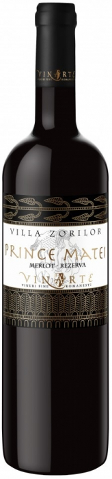 Vin Rosu de colectie Merlot Sec 2007, Prince Matei, 0,75 L [0]