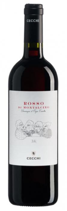 Vin Rosu Gli Amici Rosso Di Montalcino, Cecchi, DOC 0,75 L [0]