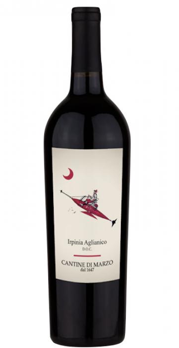 Vin Rosu Irpinia Aglianico, Cantine Di Marzo,  DOC 0,75 L [0]