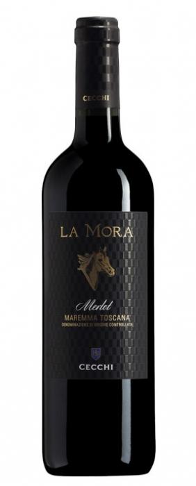 Vin Rosu Merlot Maremma Toscana, La Mora, DOC 0,75 L 0