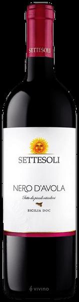 Vin rosu Nero D'avola Sicilia DOC, Settesoli 0,75L 0