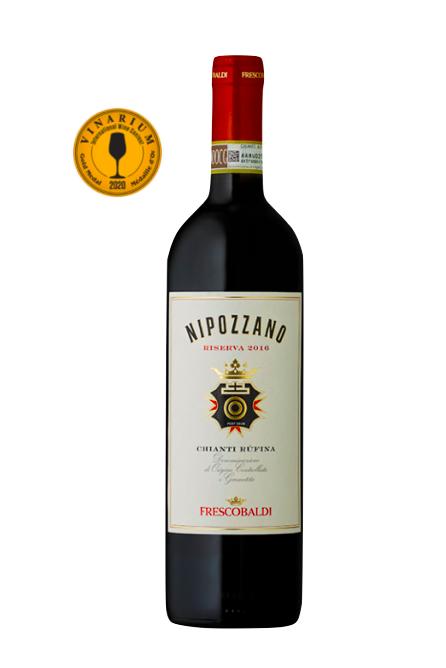 Vin Rosu Nipozzano Riserva, Frescobaldi, Chianti Rufina DOCG, 0,75 L 0
