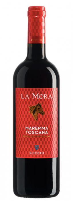 Vin Rosu Rosso Maremma Toscana, La Mora, DOC 0,75 L [0]