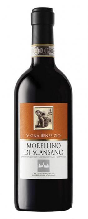 Vin Rosu Vigna Benefizio Morelino Di Scasano, Vignaioli, DOCG 0,75 L [0]