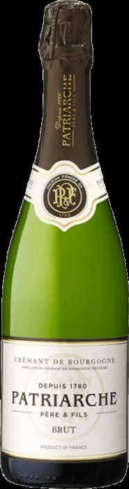 Vin Spumant Alb Cremant de Bourgogne Brut, Patriarche, 0,75 L [0]