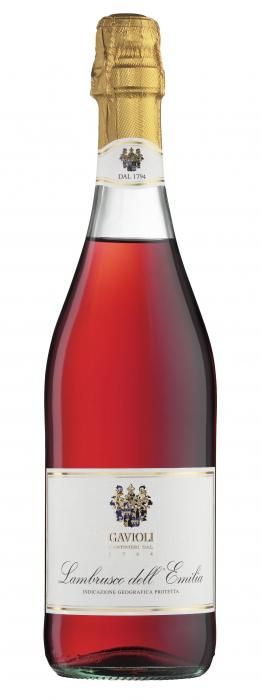 Vin Spumant Lambrusco Rosato Emilia, Gavioli, IGT 0,75 L 0