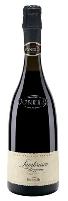 Vin Spumant Lambrusco Scaglietti Reggiano, Donelli, DOP 0,75 L 0