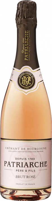 Vin Spumant Roze Cremant de Bourgogne Brut, Patriarche, 0,75 L [0]