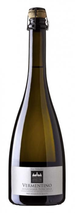 Vin Spumant Vermentino Maremma Toscana, San Rabano, DOC 0,75 L 0